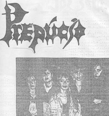 Prepucio in old fanzine